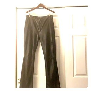 Steve Madden (Bootcut) Leather Pants